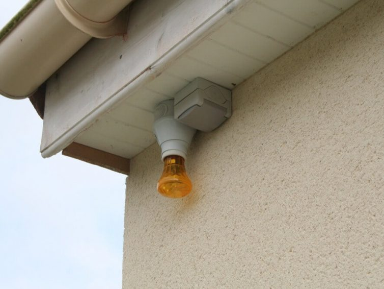 Le système d'alarme sonore extérieure